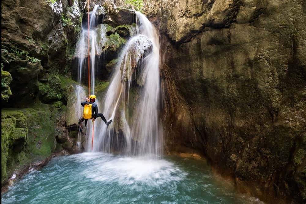 Canyoning avec LSF