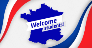 France welcomes students