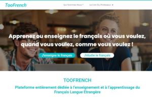 Plateforme collaborative pour les professeurs de français