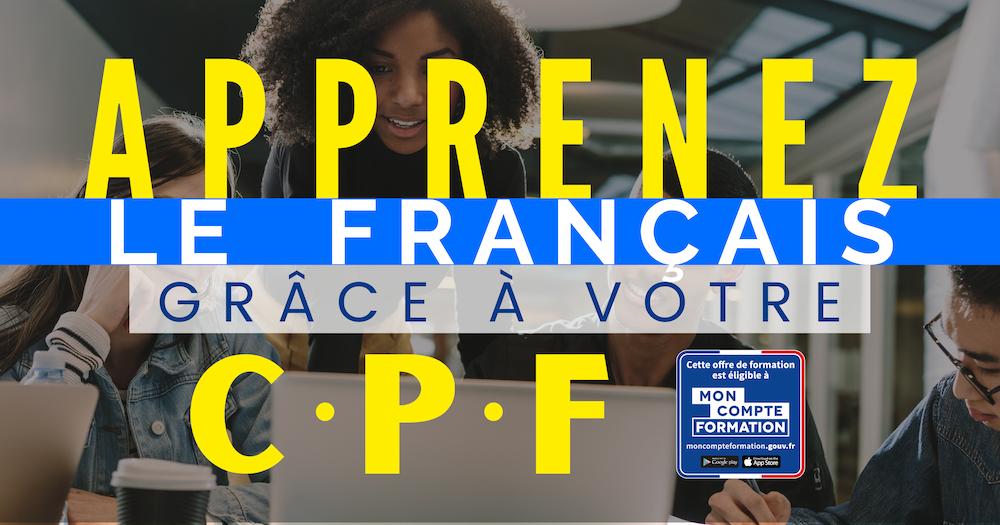 CPF Cours de français